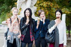 New post on http://www.styledumonde.com/ with #EdieCampbell @tildalindstam #KatlinAas & #JuliaNobis after #Valentino #ss14 #fashionshow at #parisfashionweek ... #style #streetlook #spring14 #streetstyle #streetfashion #model #modeloffduty #tildalindstam #smile #France #styledumonde #pfwss14 #pfw #paris #picoftheday #weloveit #bestoftheday #outfit #fashion #look #stripes #follow #plaid #leatherjacket