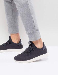 ff8002482 adidas Originals x Pharrell Williams Tennis HU Sneakers In Gray CQ2162