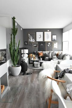 Small Living Room Scandinavian - 35 Scandinavian Living Room Design for Best Home Decoration. Living Room Photos, Asian Living Rooms, Living Room Inspiration, Home Interior, Nordic Interior, Interior Ideas, Apartment Interior, Apartment Design, Grey Interior Design
