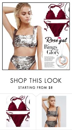 """""""ROSEGAL"""" by alma-fas ❤ liked on Polyvore featuring Tiffany & Co."""