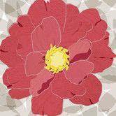 Found it at AllModern - Peony by Molly Bernarding Painting Print on Wrapped Canvas