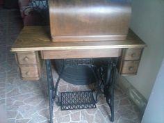 Restauracion completa de maquina de coser antigua SINGER