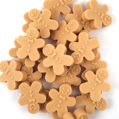Gingerbread Men Scented Wax Melt Candle Tarts by HouseOfWaxMelts - Christmas Candle, Christmas Wax Melts.