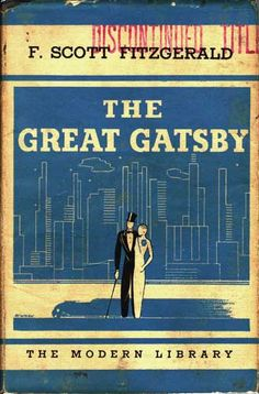 """""""The Great Gatsby"""" by F. Scott Fitzgerald The Modern Library (1925) 1st Edition hardcover"""