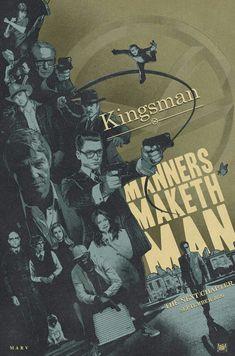 KINGSMAN MASH-UP POSTER