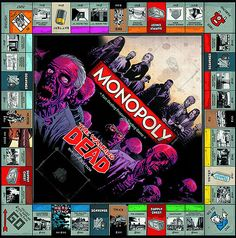 "Walking Dead Monopoly: | 27 Gifts Only True ""Walking Dead"" Fans Will Appreciate"