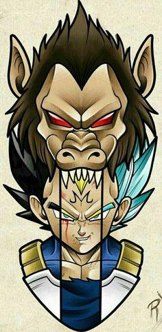 Dragon Ball Gt, Dragonball Anime, Z Tattoo, Desenho Tattoo, Anime Tattoos, Animes Wallpapers, Cover Design, Son Goku, Cartoons