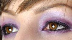 Her eye makeup is brilliant.