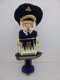 Steinbach Nutcracker Captain Smith of the Titanic Original Box Handmade Germany