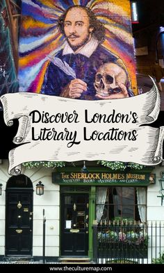 Explore the literary landscapes of London. Explore where famous writers once lived, order a drink in a pub where a literary genius once penned their now classic piece of English literature, or perhaps pay a peaceful visit to their final resting place. English Literature, The World's Greatest, Writer, Alternative, Culture, Map, London, City, Books