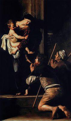 Vírgen de Loreto. Caravaggio