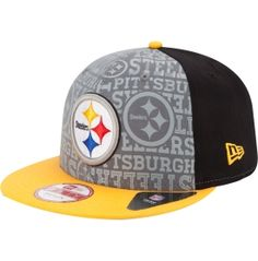 New Era Men's Pittsburgh Steelers 2014 Draft 9Fifty Hat - Dick's Sporting Goods
