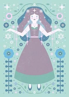 Carly Watts Art & Illustration: Ice Princess