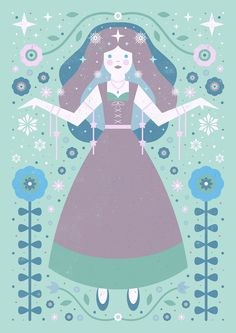 Carly Watts Art & Illustration: Ice Princess