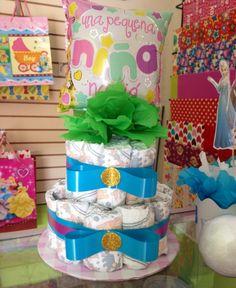@CherisStore:  cake de #pampers  #bebe #babyshower  #niño #niña como lo desees!!!! #CherishStore #Ilobasco