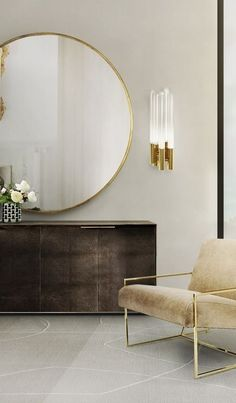 100 Living Room Ideas by Luxury Furniture Brands - team is about to share with you the hottest tips for that will let your next interior design project just awesome! ➤ Discover the seasons newest designs and inspirations. Visit Best Interior Designers at Best Interior, Modern Interior Design, Interior Design Inspiration, Contemporary Interior, Luxury Interior, Gold Interior, Interior Livingroom, Luxury Decor, Contemporary Living Room Decor Ideas
