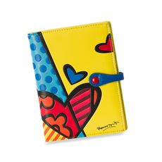 Britto™ by Giftcraft Passport Cover - Yellow Heart