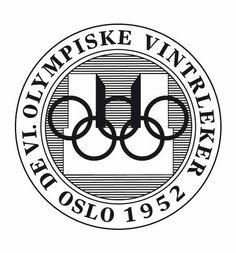 Olympic logo // Oslo 1952 Winter Olympics