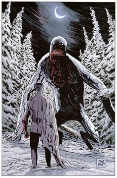 Windigo This ancient creature of the woods has the power to lure, trick and devour. In the dark of the night the voice of the Wendigo can be heard in the wind