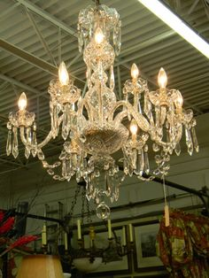 Stunning Waterford Vintage Crystal Chandelier by SpacesConsignment, $10500.00