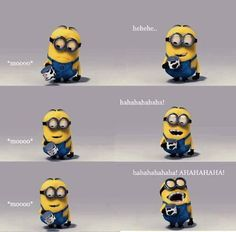 Despicable Me is a movie that I never miss a chance to watch with my kids. We always laugh at those cute, funny Minions. Amor Minions, Minions Love, Minions Minions, Minions Quotes, Minion Stuff, Minion Humor, Minion Talk, Minions 2014, Happy Minions