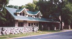 "Fred B. Jones House. ""Penwern"". 1901. Lake Delavan, Wisconsin. Prairie Style. Frank Lloyd Wright"