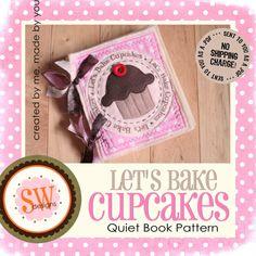 Cupcake Quiet Book Idea