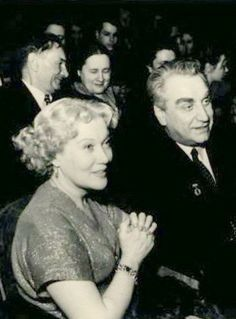 Любовь Петровна Орлова и Григорий Васильевич Александров