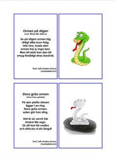 Mariaslekrum - Illustrerade sånger. Montessori, Crafts For Kids, Singing, Preschool, Education, Musik, Crafts For Children, Kids Arts And Crafts, Kid Garden