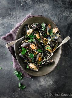 Post image for Croatian (Buzara) Style Mussels