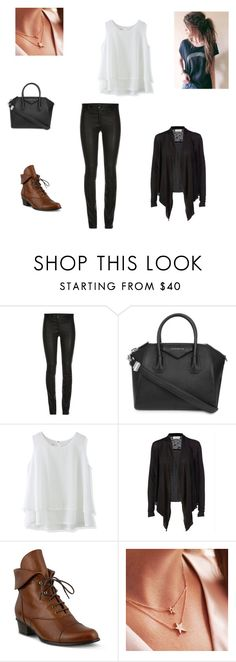 """""""Casual"""" by unknown-style-cxx ❤ liked on Polyvore featuring ElleSD, Givenchy, Chicwish, Spring Step and Bish Bosh Becca"""