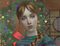Fantine is by ilikefishfood and can be found at The Modeling Agency. #Sims2  #downloads