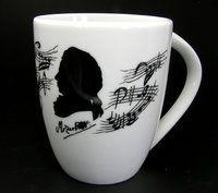 Tasse Mozart ♫♪ ☕ www.musiker-geschenke.com/Tassen