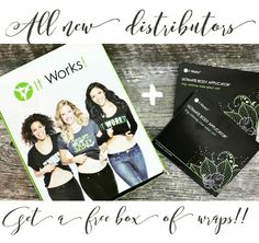 I am SO excited for everyone jumping in on this!! For the rest of this week, ALL new distributors get A FREE box of wraps in their starter kit!!! ✌ That's 8 WRAPS!!! = $200 wrap cash... Who couldn't use that money?!?  THIS is your time to join!  ✅ $200 easy cash  ✅ $500 bonus eligibility  ✅ DOUBLE Cruise points  ✅ worst case, you got the BEST deal on wraps all year!