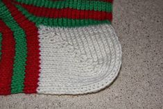 It is that time of year to start some Christmas projects. Almost every year I make Christmas stockings. I have made a lot of them in my. Knitted Christmas Stocking Patterns, Knitted Christmas Stockings, Christmas Knitting, Christmas Projects, Christmas Gifts, Christmas Stuff, Blanket, Socks, How To Make