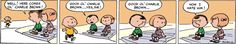 """""""Peanuts"""" by Charles M. Schulz ~ This is the first """"Peanuts"""" strip ever (Oct. 2, 1950)!"""