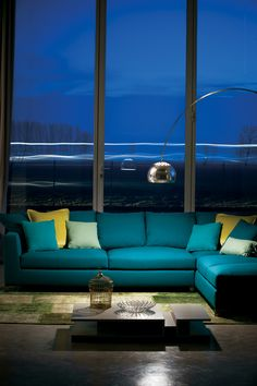 Sofa Primafila, colourful and modern!