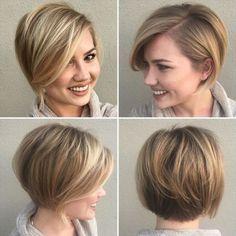 Short Hair Model, Short Thin Hair, Short Hair Cuts For Women, Medium Hair Cuts, Short Hair Styles, Short Blonde, Ash Blonde, Thick Hair, Medium Hair Styles