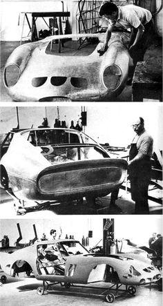 Ferrari 250 GTO as all were hand-built in Modena