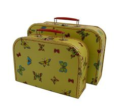 Girls gifts online - Bobangles - Stunning 2 piece Euro Suitcase Set!  Perfect place to store little treasures!  Makes a gorgeous baby gift or gift for little girls of all ages!  $44.95  https://www.littlebooteek.com.au/product/bobangles-euro-suitcase-set-butterfly . Girls gifts online - Bobangles