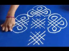 Rangoli Design with dots easy to draw and beutiful for beginners By Meartist.in - YouTube
