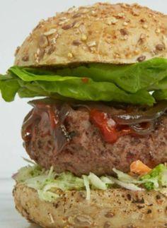The best ground beef burger mix recipe