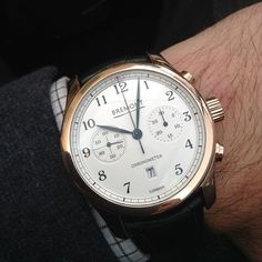 Bremont Luxury Line Fly Back Chronometer in rose gold. #Bremont #osterwatches