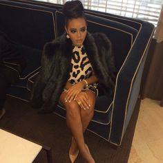 3  Angela Simmons's Instagram Shop Reverie Leopard Printed Inception Dress