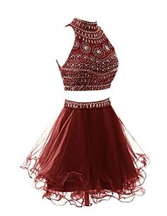 Wedtrend Women's Short Two Pieces Homecoming Dress with Beads Party Dress WT10157 Burgundy 2 Wedtrend http://www.amazon.com/dp/B015DML4KY/ref=cm_sw_r_pi_dp_Zx-9vb1FN75FK