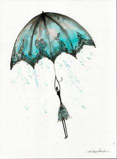 Abstrakcja deszczowa ulica ręcznie malowany obraz kobieta z | Etsy Rain Street, Rainy Days, Art Drawings, Romantic, Ceiling Lights, Ink, Black And White, Poster, Abstract