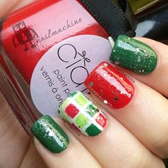 christmas by nailmachine #nail #nails #nailart