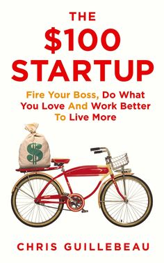 The $100 Startup by Chris Guillebeau. Change your job to change your life. You no longer need to work nine-to-five in a big company to pay the mortgage, send your kids to school and afford that yearly holiday. You can quit the rat race and start up on your own - and you don't need an MBA or a huge investment to do it. The $100 Startup is your manual to a new way of living.