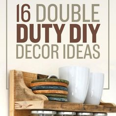 16 Double-Duty DIYs That Will Make Your Life Prettier And Easier