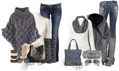 Cómo Combinar - Color gris tejanos